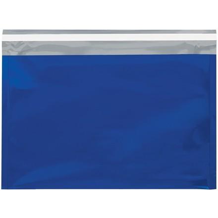 "Mailers métalliques glamour - 9 1? 2 x 12 "", bleu"