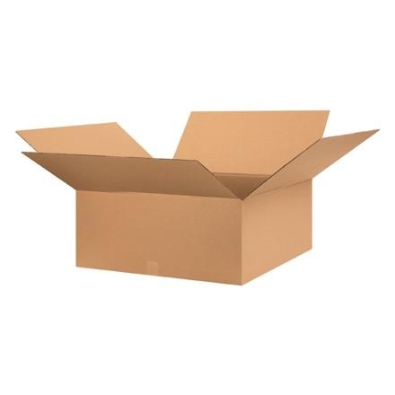"""Boîtes en carton ondulé, 28 x 28 x 10 """", Kraft"""
