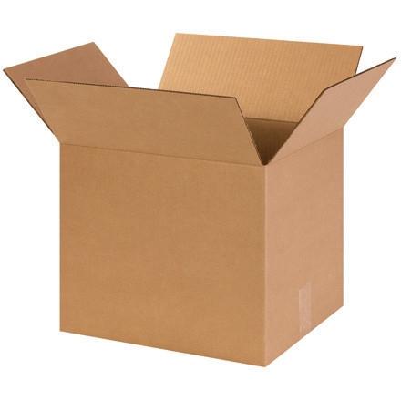 """Boîtes en carton ondulé, 14 x 12 x 12 """", Kraft"""