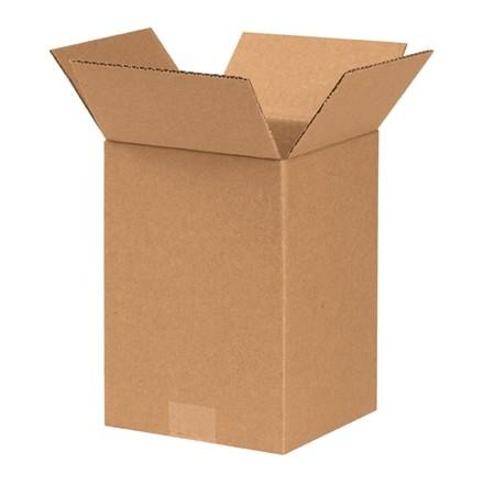 """Boîtes en carton ondulé, 7 x 7 x 9 """", Kraft"""