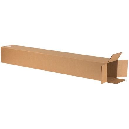 """Boîtes en carton ondulé, 6 x 6 x 48 """", Kraft"""