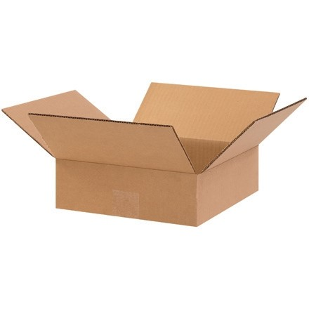 "Boîtes plates 10 x 10 x 3 """
