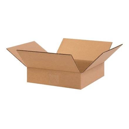 "Boîtes plates 10 x 10 x 2 """