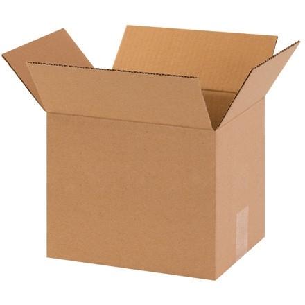 """Boîtes en carton ondulé, 10 x 8 x 8 """", Kraft"""