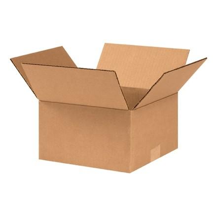 """Boîtes en carton ondulé, 9 x 9 x 5 """", Kraft"""