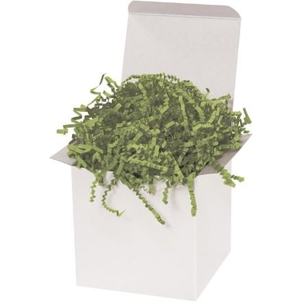 Papier froissé - 10 lb, vert olive