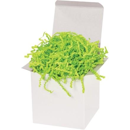 Papier froissé - 10 lb, vert lime