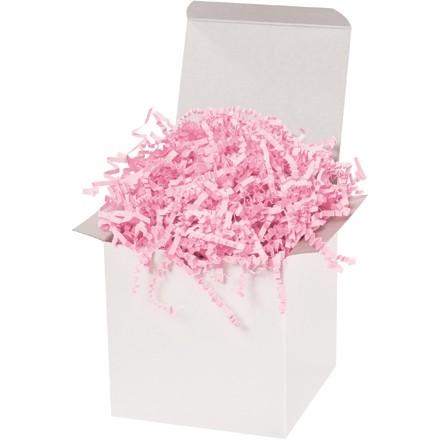 Papier froissé - 10 lb, rose pâle
