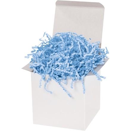 Papier froissé - 10 lb, bleu clair