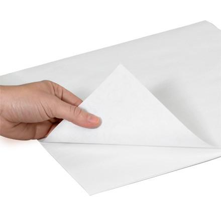 """Feuilles de papier de boucherie - Blanc, 36 x 36 """""""