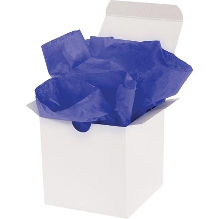 Feuilles de papier de soie bleu Parade, 20 x 30 po
