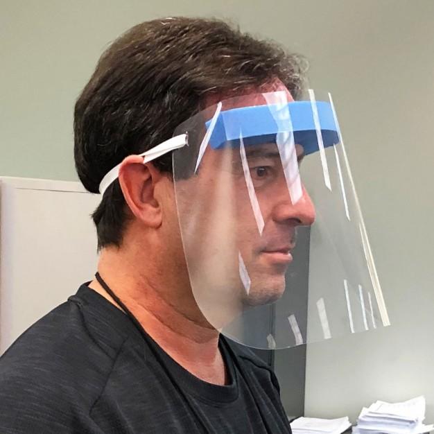 Écran facial protecteur (10 par caisse)