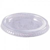 Couvercles de portion en plastique pour 2 oz.