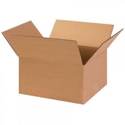 """Boîtes en carton ondulé, 13 x 11 x 7 """", Kraft"""