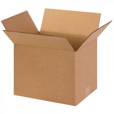 """Boîtes en carton ondulé, 13 x 10 x 10 """", Kraft"""