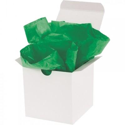 "Feuilles de papier de soie Kelly Green, 20 x 30 """
