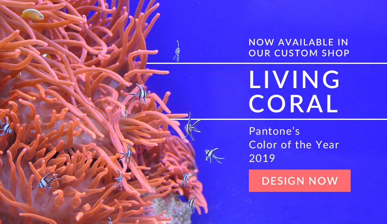 Pantone Color 2019 - Living Coral